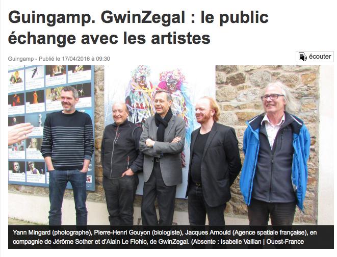 Gwinzegal les artistes